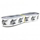 "10 meters 7/8"" 22mm Swordfish European Jacquard Ribbon For Dog Collar"