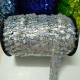 36 Yards Elastic Sequin Trim