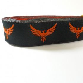 10meters 22mm Phoenix Harry Potter European Dog Collar Jacquard Ribbon