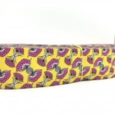"""10 meters 1.5"""" 38mm Splendid Spring Flower European Jacquard Ribbon For Dog Collar"""
